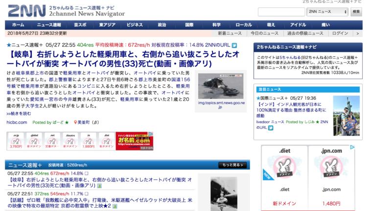 2NN 2ちゃんねるニュース速報